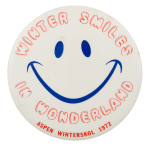Winter Smiles in Wonderland Smileys Button Museum