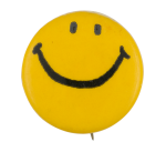 Yellow Smiley 12 Smileys Button Museum