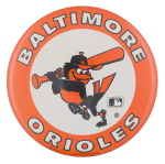 Baltimore Orioles Sports Button Museum