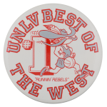 UNLV Best of the West Schools Button Museum
