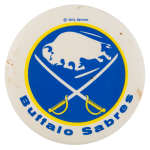 Buffalo Sabres Sports Button Museum