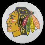 Chicago Blackhawks Logo Chicago Button Museum