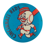 Cincinnati Reds Sports Button Museum