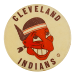 Cleveland Indians Sports Button Museum