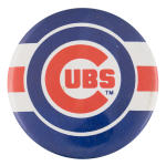 Cubs Dark Blue Sports Button Museum