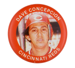 Dave Concepcion Cincinnati Reds Sports Button Museum