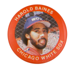 Harold Baines Chicago White Sox Sports Button Museum