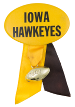 Iowa Hawkeyes Sports Button Museum