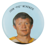 "John ""Pie"" McKenzie Sports Button Mueum"