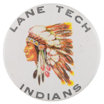 Lane Tech Indians Schools Button Museum