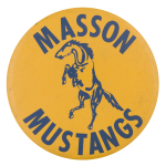 Masson Mustangs School Button Museum