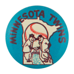 Minnesota Twins Sports Button Museum