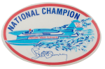 National Champion Boat Sports Busy Beaver Button Museum