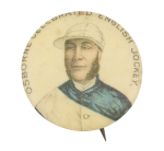 Osborne Celebrated English Jockey Sports Button Museum
