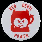 Red Devil Power Schools Button Museum