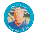 Rusty Staub New York Mets Sports Button Museum