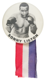 Sonny LIston Sports Button Museum