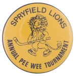 Spryfield Lions Sports Button Museum