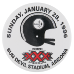 Super Bowl XXX Sports Button Museum