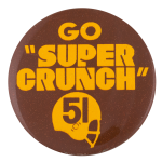Go Super Crunch Sports Button Museum