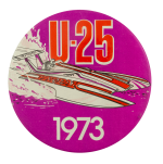 U25 Boat 1973 Sports Busy Beaver Button Museum