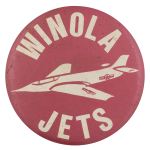 Winola Jets Sports Button Museum