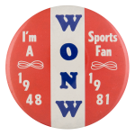 WONW Sports Fan Sports Button Museum