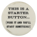 Starter Button Self Referential Button Museum