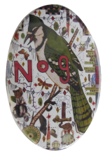 Tony Fitzpatrick's No. 9 Art Button Museum