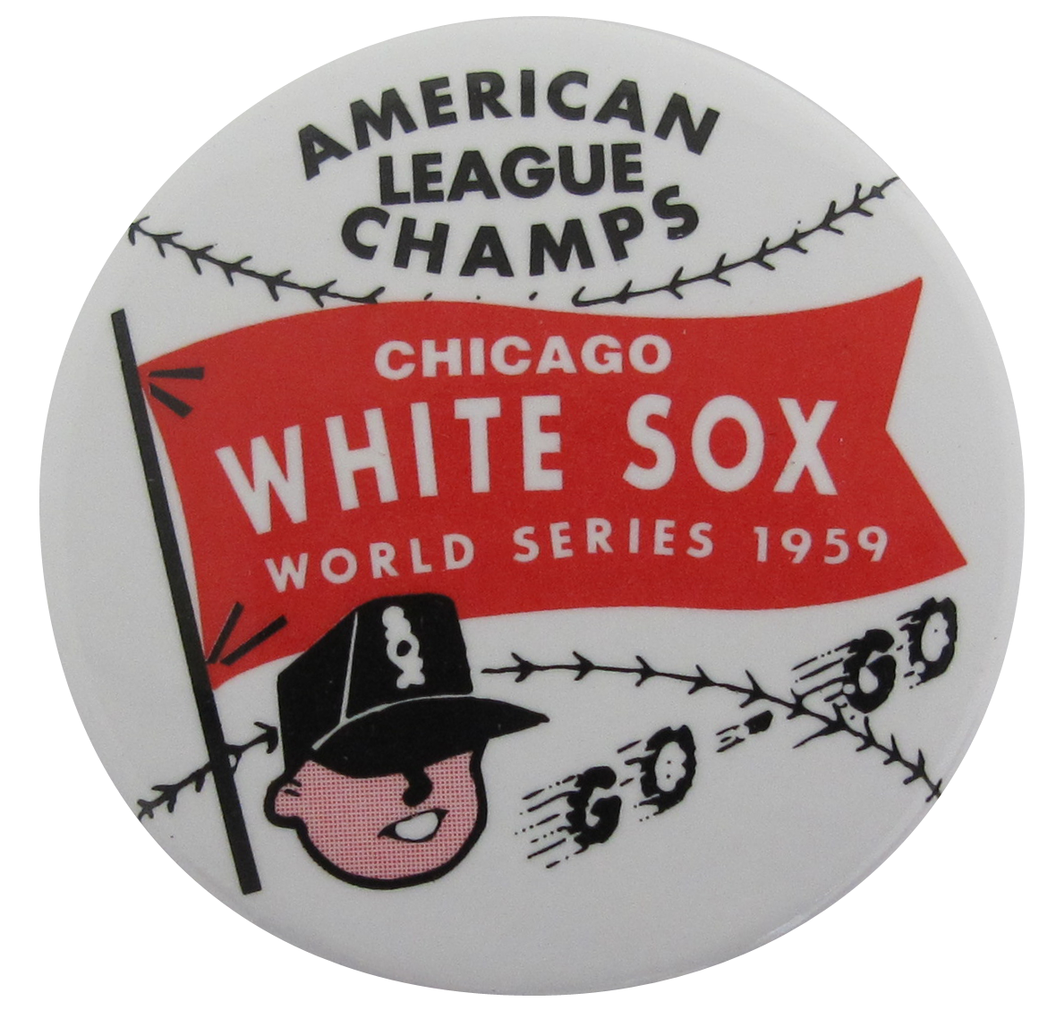 premium selection 9a134 7bc60 American League Champs Chicago White Sox World Series 1959 ...